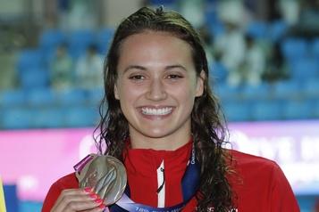 Kylie Masse nommée la nageuse de l'année au Canada