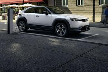 Mazda Avec son autonomie limitée, le MX-30 devra convaincre autrement)
