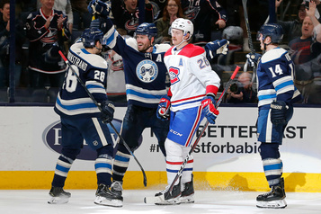 Canadien-Blue Jackets: des points qui s'envolent