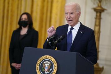 Biden ne veut pas se laisser entraîner dans le conflit israélo-palestinien)