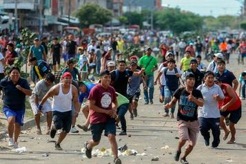 Élections en Bolivie: le président compare la grève générale à un «coup d'État»