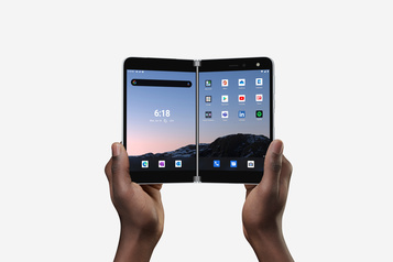 Microsoft revient sur le marché des téléphones avec le Surface Duo)