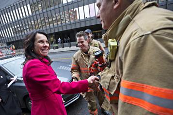 Les pompiers de Montréal appuieront la réélection de Valérie Plante)