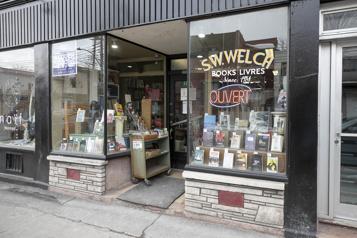 Mile End Louise Penny défend la librairie S.W. Welch, menacée de fermeture)