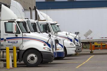Le colosse québécois du camionnage TFI veut s'inscrire à la Bourse de New York