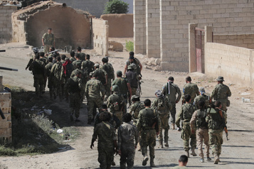 Syrie: neuf civils «exécutés» par les rebelles proturcs