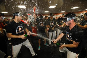 Violence conjugale: les Astros s'excusent pour du «langage inapproprié»