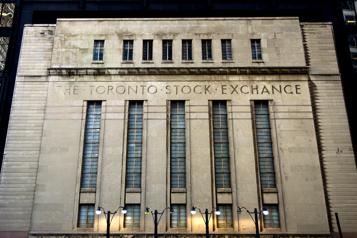 Sommet historique La Bourse de Toronto gagne 102points et clôture à 21087