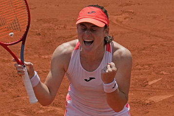 Roland-Garros Zidansek et Pavlyuchenkova dans le carré d'as)