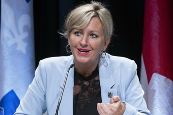 «On n'est pas du tout» dans une crise du logement, assure la ministre Laforest)