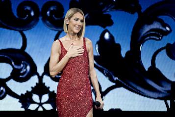 Céline Dionsouhaite «force et courage» à ses fans