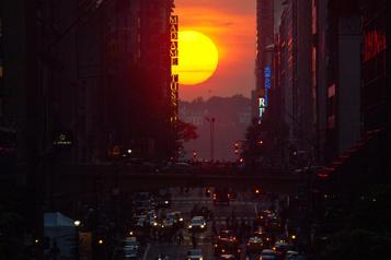 Admirer le Manhattanhenge à New York