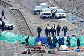 Blocus ferroviaires: l'impasse persiste malgré le dialogue