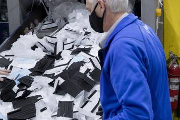 Recyclage des masques Une solution québécoise boudée… au Québec)