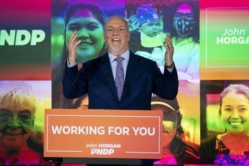 Élections provinciales Le NPD majoritaire en Colombie-Britannique)