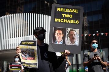 Canadiens détenus en Chine Michael Kovrig «très soulagé» d'avoir eu un contact consulaire)
