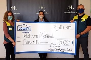 245 000$ pour les banques alimentaires)