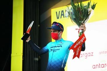 Tour de France Hugo Houle remporte le prix de la combativité)
