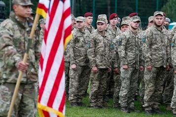 Kiev et Washington en manœuvres militaires en Ukraine)