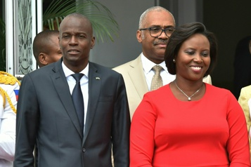 Haïti La veuve de Jovenel Moïse met en cause sa sécurité)
