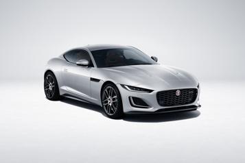 Jaguar Seulement desV8 pour la F-Type, l'I-Pace semodernise)