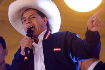 Élection de Pedro Castillo au Pérou De l'espoir malgré la montagne à gravir)