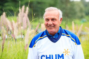 Publicité du CHUM: Guy Lafleur à la défense du Canadien de Montréal)