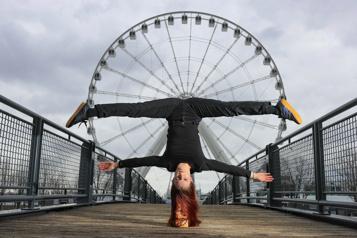 Louana Seclet, artiste de cirque À bientôt, j'espère, chapiteau! )