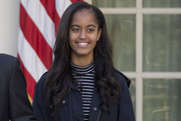 Malia Obama à Hollywood)