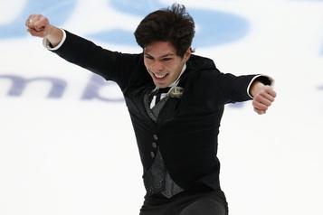 Grand Prix de patinage artistique  Keegan Messing pensera à ses coéquipiers à Skate America)
