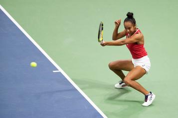 Fed Cup: le Canada éliminé malgré le gain de Leylah Annie Fernandez