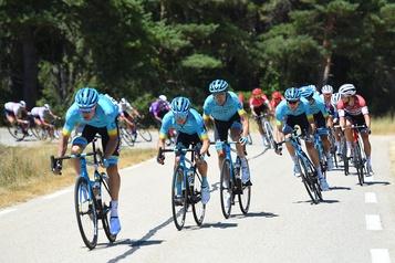 Astana et Hugo Houle en bonne posture à l'aube d'une étape déterminante en Pologne)