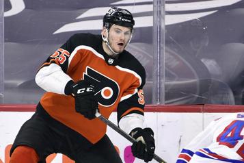 Les Flyers prolongent le contrat de Samuel Morin)