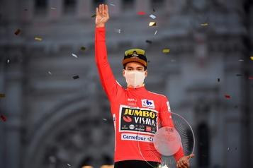 Primoz Roglic défend son titre au Tour d'Espagne)