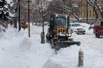 Montréal déneigée à près de 51% mercredi matin