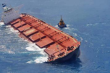 Un minéralier sud-coréen menace de chavirer au large du Brésil