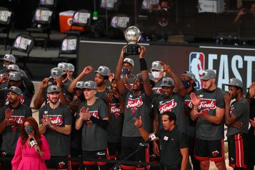 Le Heat élimine les Celtics et rejoint les Lakers en finale)