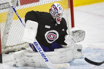 Canadien - Oilers Un premier départ pour Jake Allen)