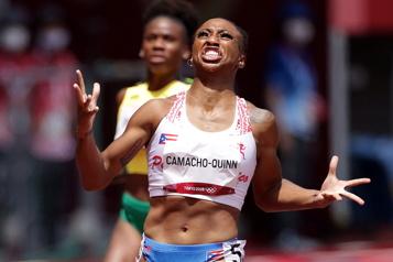 Athlétisme Jasmine Camacho-Quinn remporte le 100mètres haies)