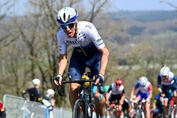Course Liège-Bastogne-Liège «Avec 100mètres à faire, je pensais que j'allais gagner», lance Michael Woods)