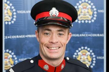 Le policier tué à Calgary allait devenir père pour la première fois)