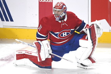 Carey Price de retour devant le filet du Canadien)
