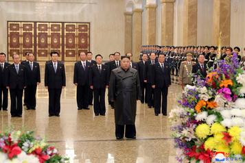 Première apparition publique de Kim Jong-un en trois semaines