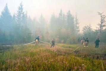 La canicule en Sibérie «presque impossible» sans le changement climatique)