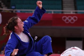 Judo Le bronze pour Catherine Beauchemin-Pinard)