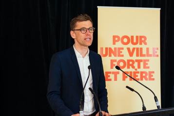 Québec Bruno Marchand veut «changer le ton» à l'hôtel de ville)