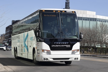 Québec allonge 10millions de plus pour le transport interurbain)