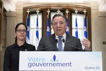 Élections: François Legault joue la carte nationaliste