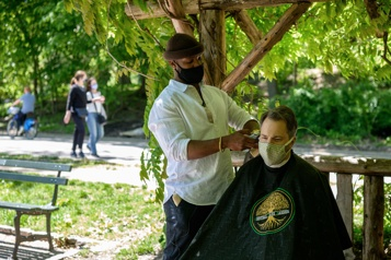 Le barbier de Central Park, nouvelle attraction new-yorkaise)