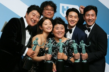 Parasite récompensé aux SAG Awards
